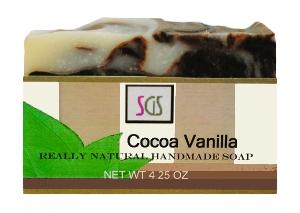 Cocoa Vanilla Handmade Soap