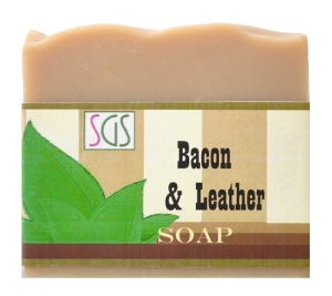 Bacon and Leather Soap